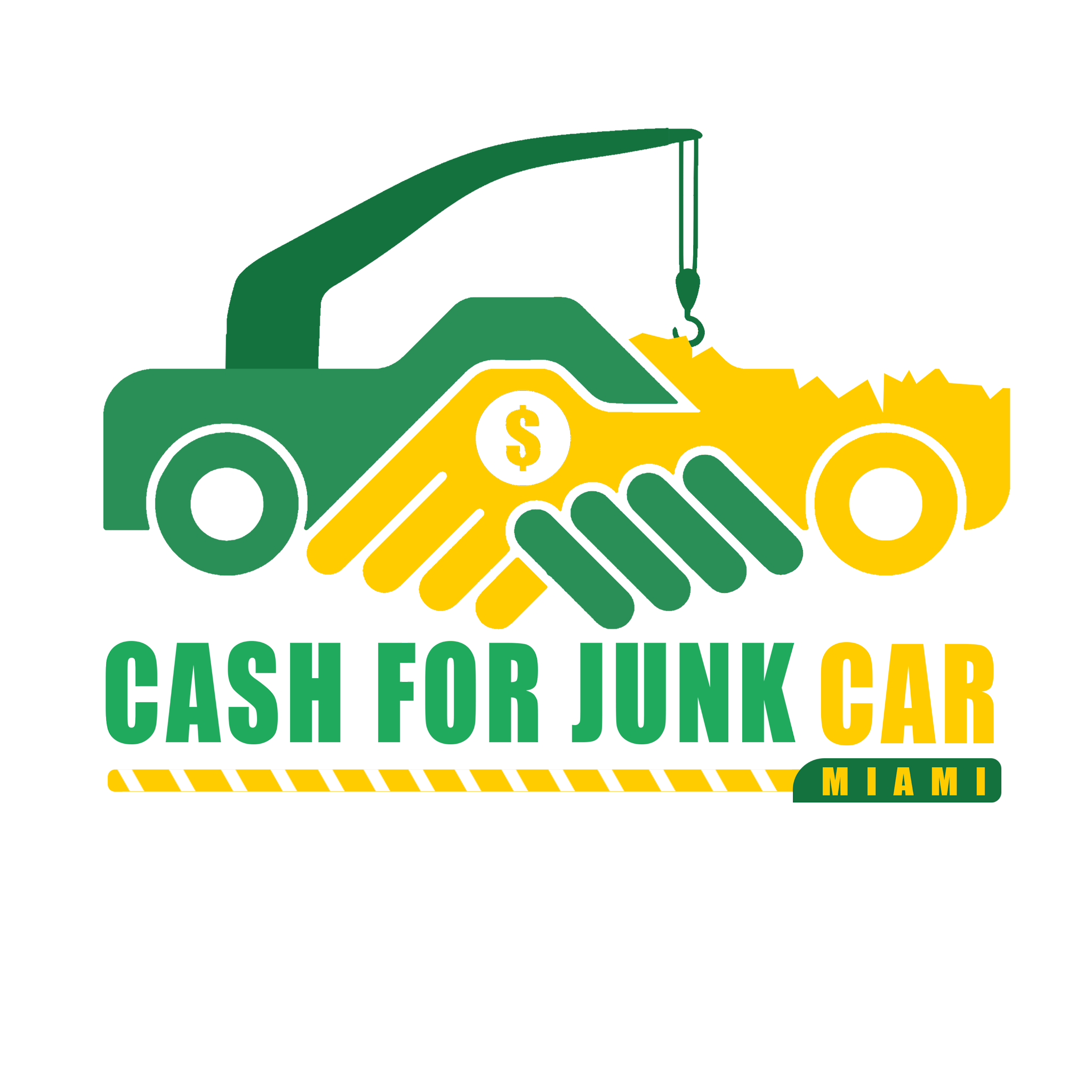 Cash For Junk Car Miami Logo